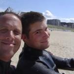 Tommy und Ich in Egmond